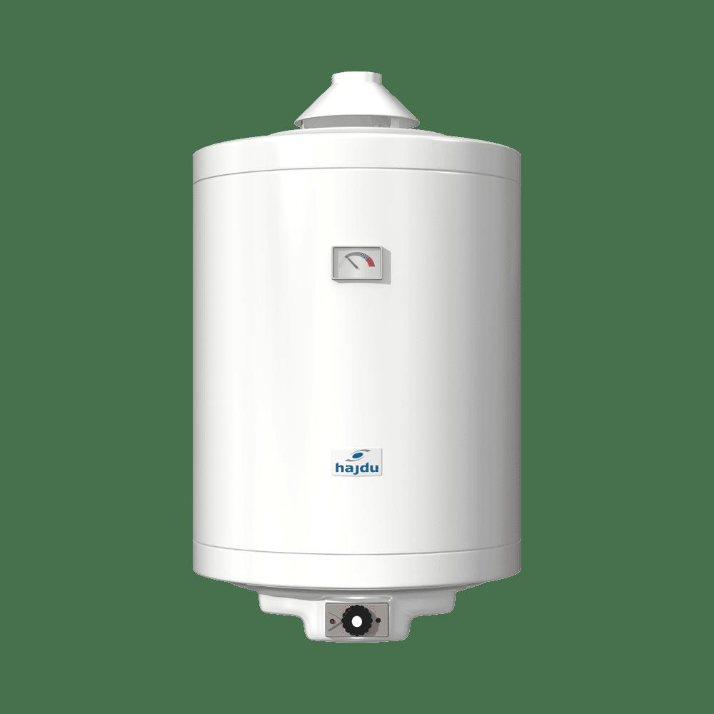 HAJDU GB80.1 tárolós vízmelegítő, gázüzemű, kéményes, 80l